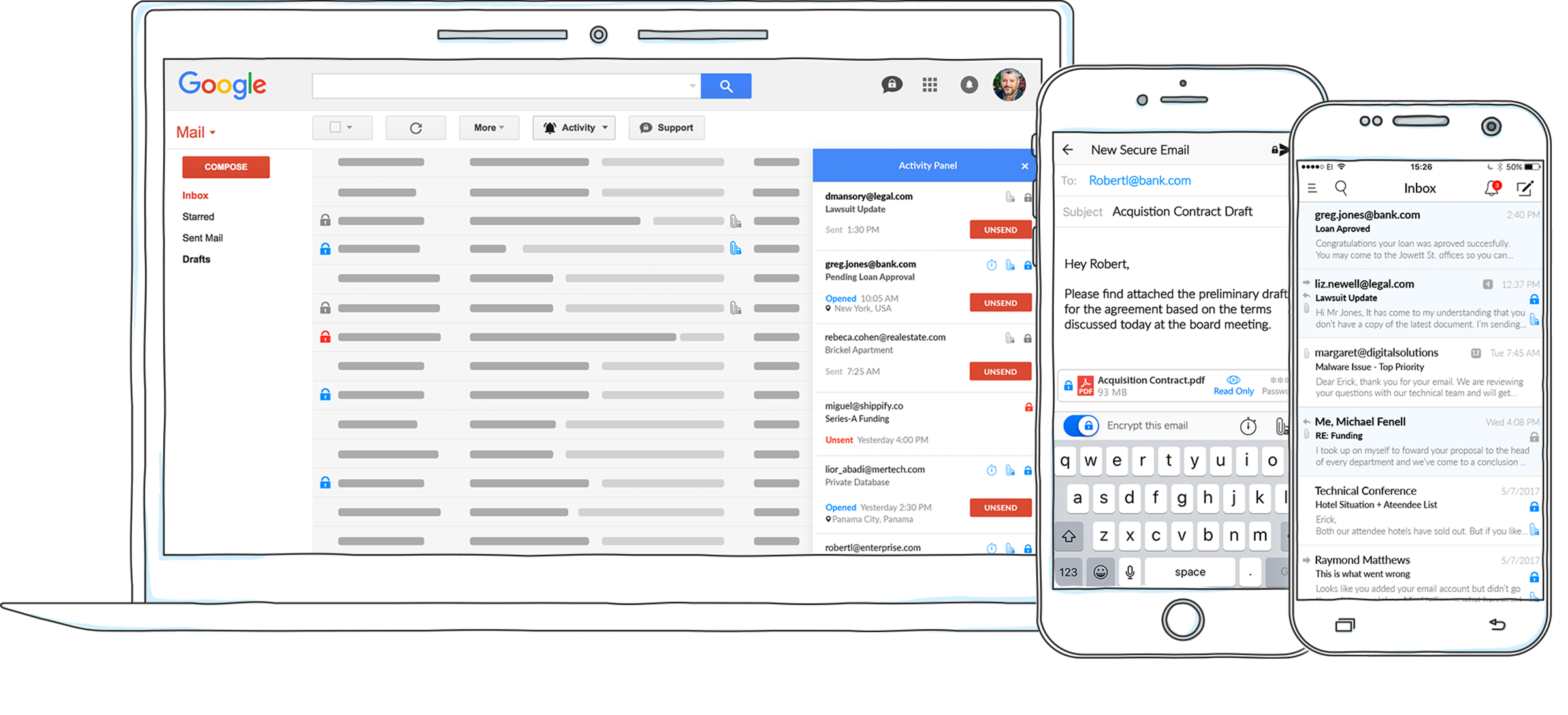 Criptext for Gmail